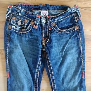 Vintage True Religion joey super T jeans womens 25